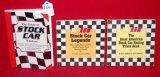 (3) Stock Car Softback Books