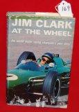 Jim Clark At The Wheel Hardback Book