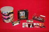 Neil Bonnett Lot: Tin, Cars, Card Set