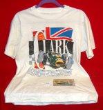 Jim Clark T-Shirt & 50th International Race Ticket
