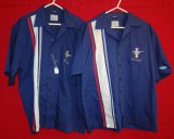 (2) David Carry Original Ford Mustang Shirts