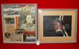 Jim Clark Framed Print at Indy & Tribute Montage