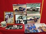 Dale Earnhardt Lot: Photos, Mug, License Plate