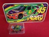 Adam Petty Lot: Caliber Car & License Plate