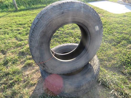 2 Tires 245 75R16