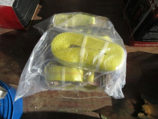 (4) Unused Ratchet Cargo Straps,
