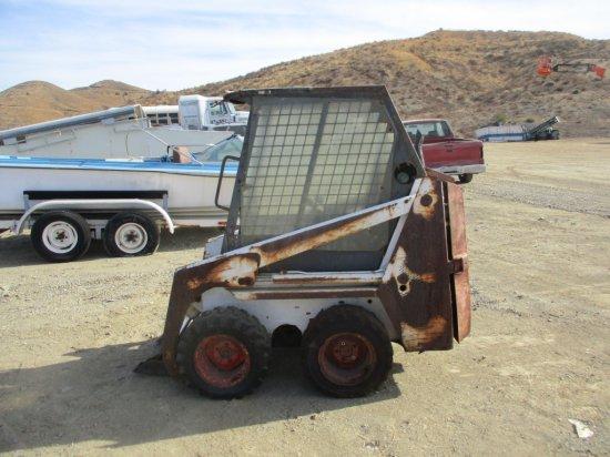 Bobcat Skid Steer Loader, | Heavy Construction Equipment
