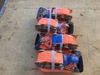"(4) Unused 2"" x 33' Ratchet Cargo Straps,"