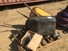 Pallet of Wheel Barrows, Weed Wacker,
