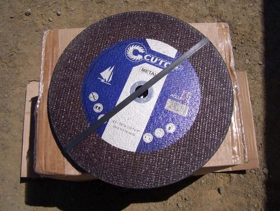 """(6) Unused 14"""" Abrasive Blades."""