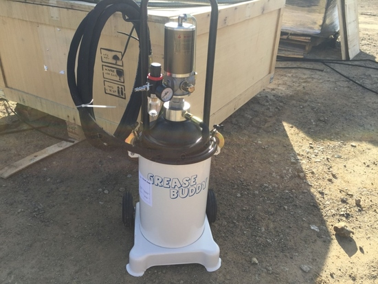 Unused Grease Buddy Pneumatic Grease Pump.