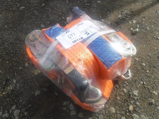 """(4) Unused Great Bear 2"""" x 27' Ratchet Cargo"""