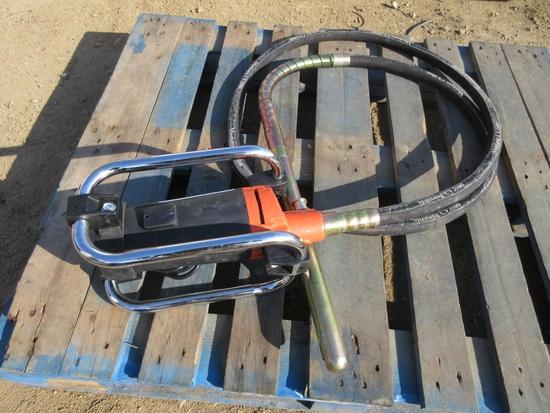 Unused Mustang CV3500 Concrete Vibrator.