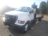 Ford F650XL Equipment Carrier Truck,