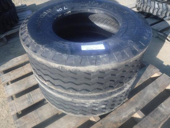(2) Unused 11L-16 SL Turbo Tires,