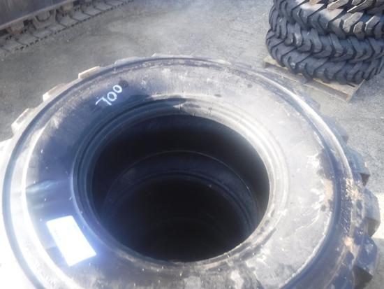 (4) Unused Loadmaxx 14-17.5 Tires,