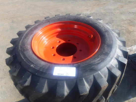 (4) Unused Camso SKS332 12-16.5 Tires and Rims,