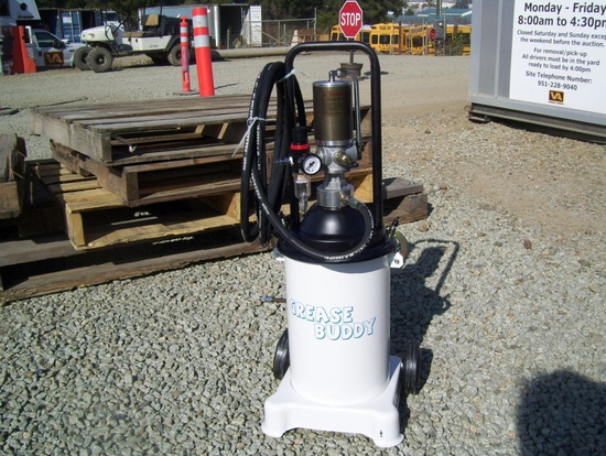 Unused Grease Buddy Pneumatic Grease Pump.