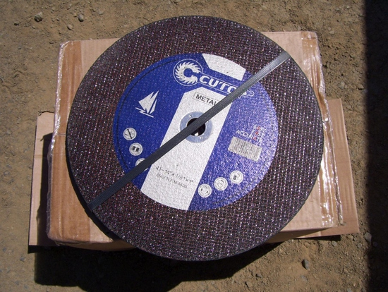 "(6) Unused 14"" Abrasive Blades."