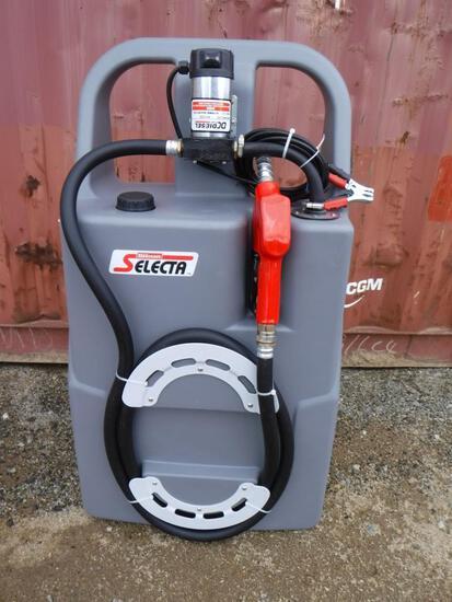 Unused 25 Gallon Diesel Fuel Caddy,