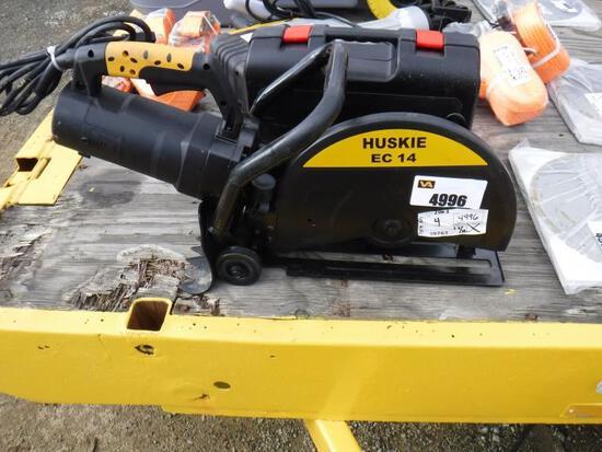 """Unused Huskie EC14 14"""" Cut Off Saw,"""