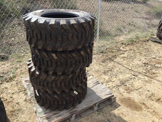 (4) Unused Camso SKS332 12-16.5 Tires,