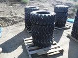 (4) Unused Camso SKS332 10-16.5 Skid Steer Tires.