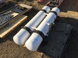 (2) LPG Tanks.