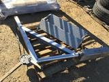 Aluminum Boat Hoist/Winch and Step.