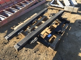 Pallet of (2) Step Rails & Receiver Hitch.