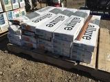 Pallet of Allure Grip Strip Flooring.