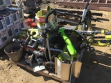 Pallet of Misc Items Including Ryobi Electric