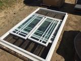 7' x 4' Screened Window Unit w/2 Sliders.