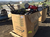 Pallet of Lawn Mowers & Other Misc Items.