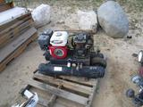 Air Compressor w/Twin Tanks.