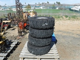 Pallet of (4) 265/75 R16 Tires & Rims.
