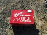 Milwaukee Deep Cut Band Saw,