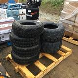 Pallet of (4) 21 x 7.00-10 XC Racer Tires,