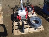 Honda Gas Tiller, and Husky Gas Pressure Washer.