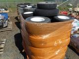 Pallet of Golf Cart Tires & Rims.