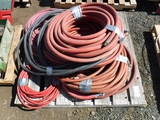 Pallet of Misc Water and Air Hoses.