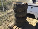 (4) 12-16.5 Tires & Rims,