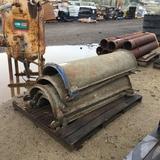 (5) Concrete Chutes,