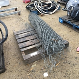 Roll of Chain Link Fence.