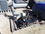 Pallet of Steel Banding Cart,