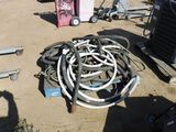 Pallet of Torch & Air Compressor Hoses.