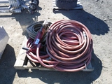 Pallet of Jack Hammer and Air Hose.