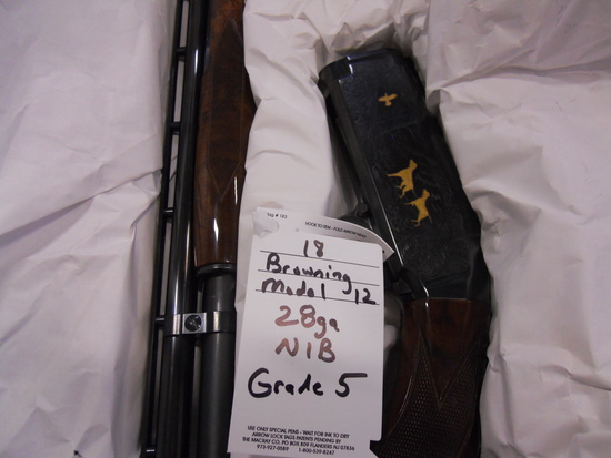Browning, 12, 28, grade 5, new in box