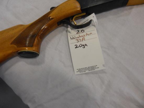Winchester, 37A, 12,
