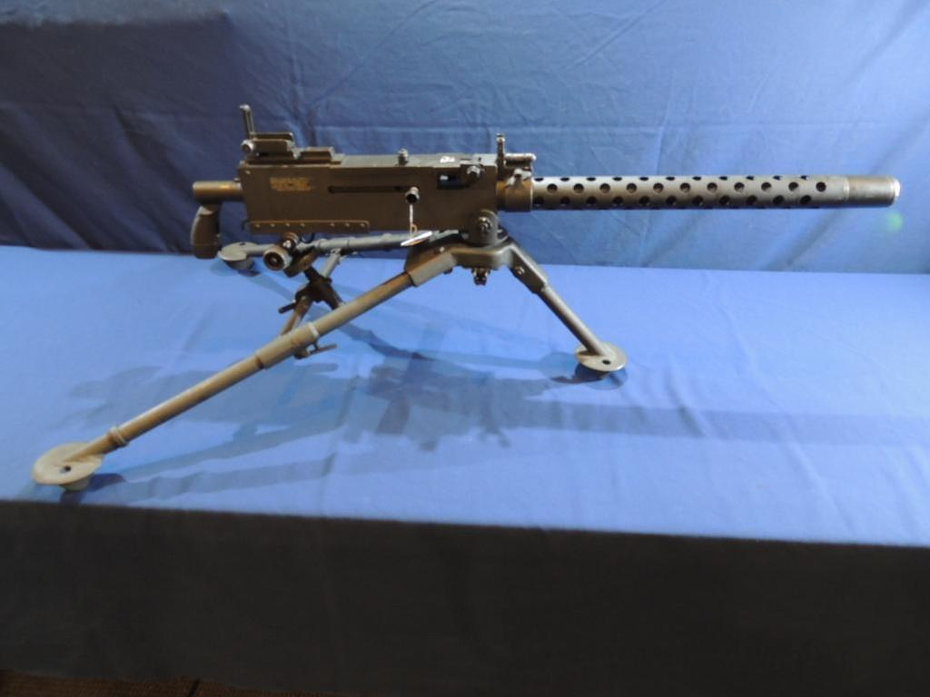 Browning Model 1919A4 Fully Functional Semi Auto 7.62 with Tripod